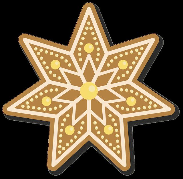 mézeskalács csillag