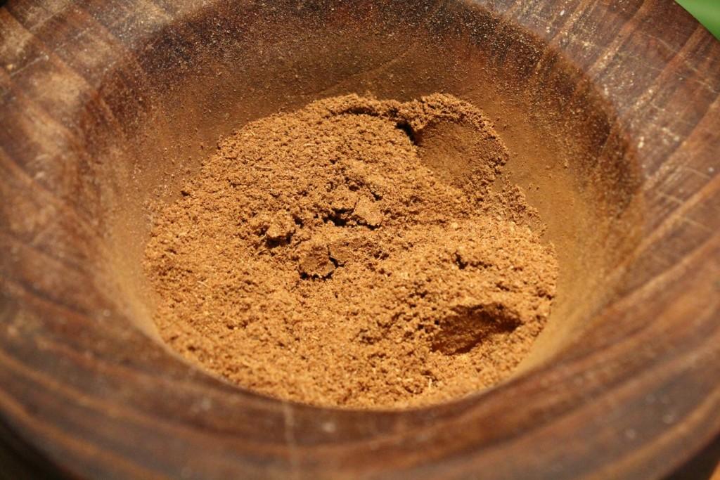 Mézeskalács fűszerkeverék összekeverve