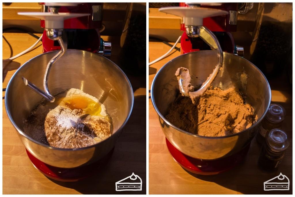 Mézeskalács házikó készítése 1